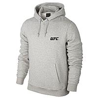 Толстовка UFC, ЮФС в стиле, серая