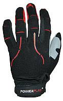 Велоперчатки PowerPlay 6662 Black-Red L