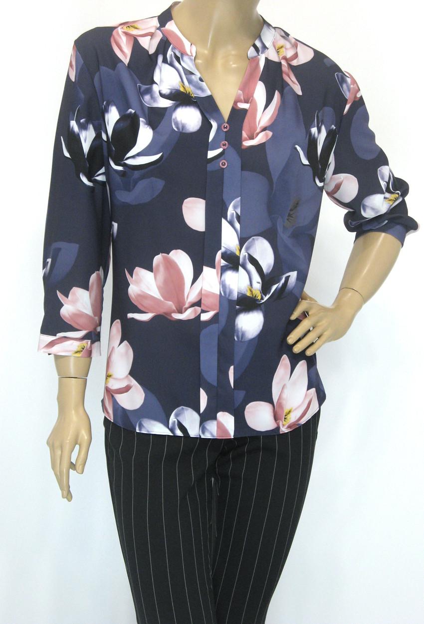 Шифонова нарядна блуза Meissi