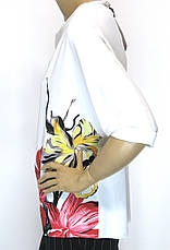 Нарядна шифонова блуза з стразами Ezgola, фото 3