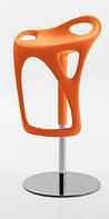 Дизайнерский барный стул FORM 489 оранжевый COMPAR (Италия)