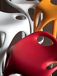Дизайнерський барний стілець FORM 489 помаранчевий COMPAR (Італія), фото 6