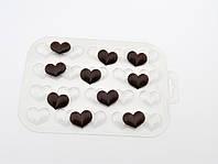 Пластиковая форма для шоколада Шоко гео #3