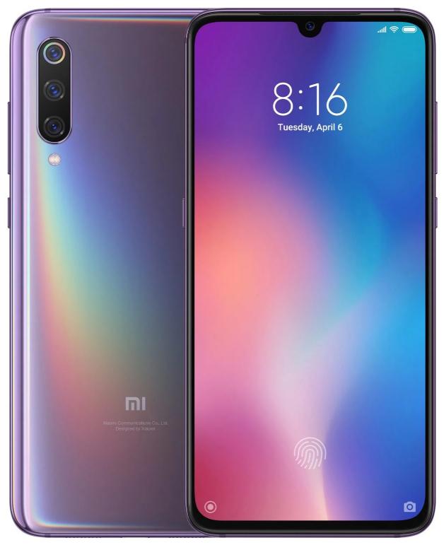 "Xiaomi Mi 9 Lavender Violet 6/128 Gb, 6.39"", Snapdragon 855, 3G, 4G (Global)"