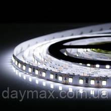 LED Стрічка світлодіодна (А-клас) 9,6 Вт 3528 120 діод./м біла (7000К-8000К) МОТОКО
