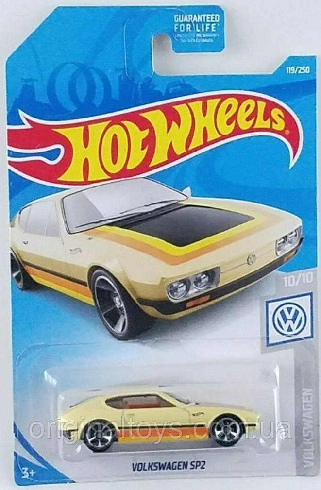 Базовый мотоцикл Hot Wheels SP2 - Volkswagen