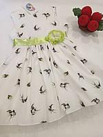 """Нарядное платье для девочки """"Полет ласточки"""" Garden Baby., фото 1"""
