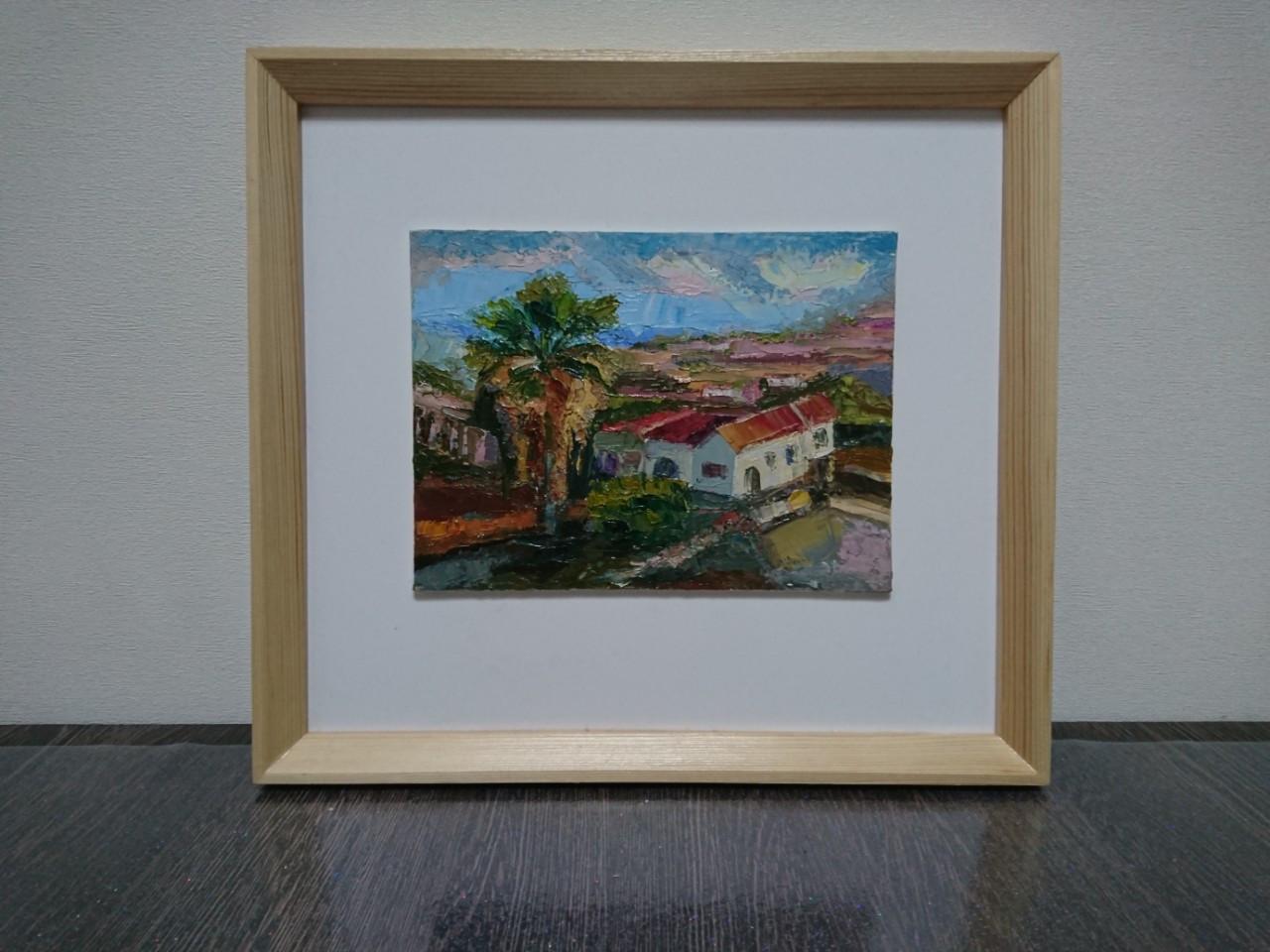 """Картина """"Будинок з пальмою"""""""