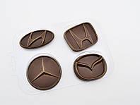 Пластиковая форма для шоколада Авто эмблемы 2