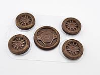 Пластиковая форма для шоколада Набор автолюбителя