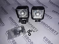 Фара рабочая , прожектор, фонарь подсветки робочей зоны, 12V-24V H3 с кронштейнами , фото 1