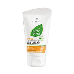 Aloe Vera сонцезахисний крем spf 50 від LR 75 мл