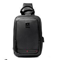 Однолямочный рюкзак ARCTIC HUNTER XB00088 USB, фото 3