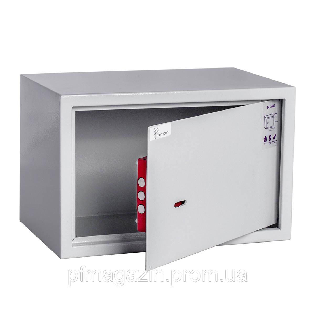 Сейф мебельный БС-20КД (ВхШхГ - 200х310х200)