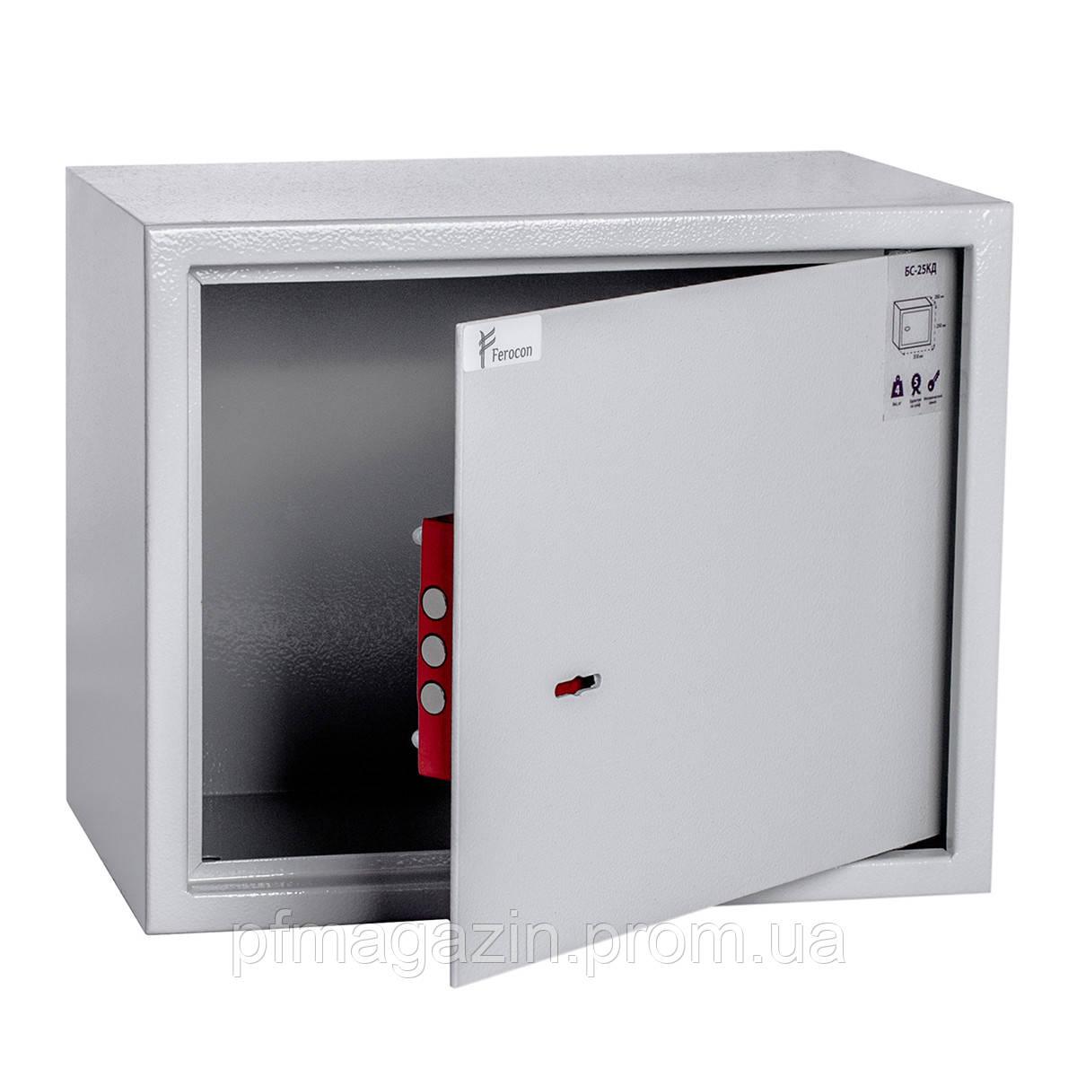 Сейф мебельный БС-25КД (ВхШхГ - 250х310х200)