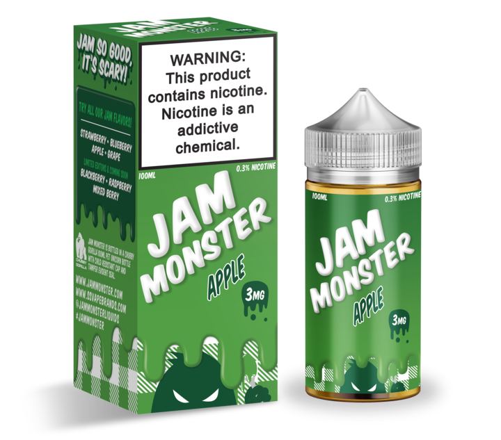 Премиум жидкость Jam Monster - Apple 100ml [3mg] (Original)