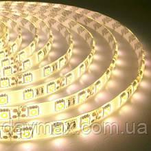 LED Стрічка світлодіодна (А-клас) 5050 IP65 60 діод./м 14.4 вт/м теплий білий світ (2000k-3500k) motoko