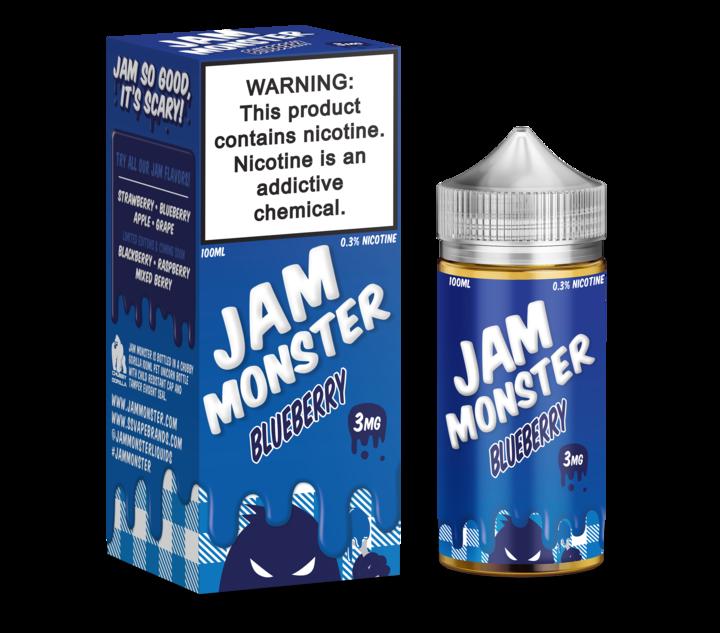 Премиум жидкость Jam Monster - Blueberry 100ml [3mg] (Original)