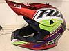 Красный Кроссовый эндуро мото шлем Fox под очки (эндуро, даунхил), фото 5