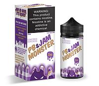 Премиум жидкость Jam Monster - PB & Grape Jam (LE) 100ml [3mg] (Original)