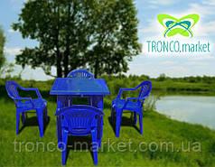 Комплект пластиковой мебели с Зонтом, фото 3