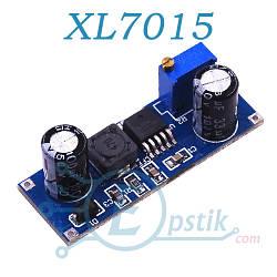 XL7015, DC-DC понижающий преобразователь, регулируемый от 1.25 - 20В, 800мА.