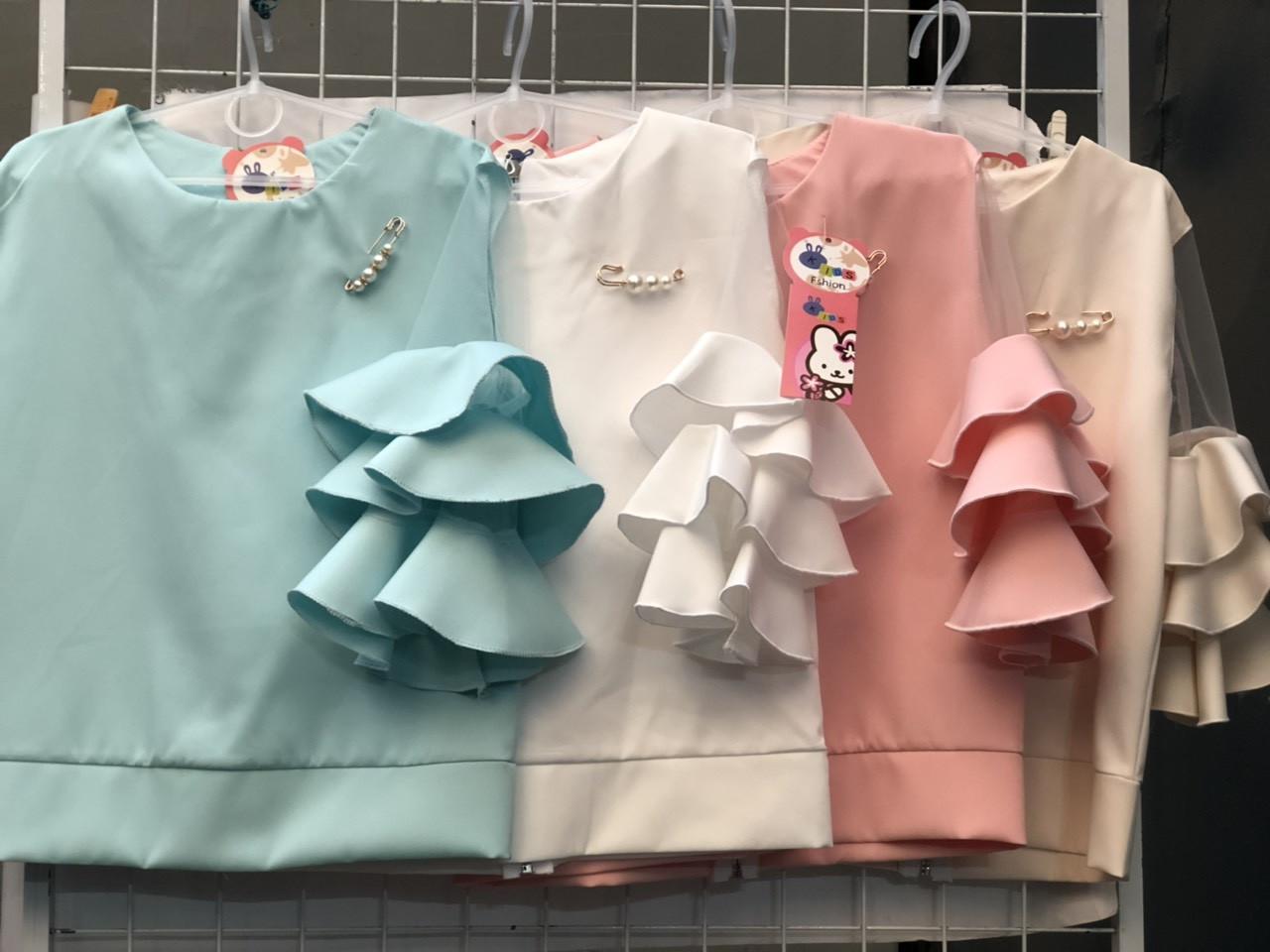 Блузка для девочек с воланами (0206/14)