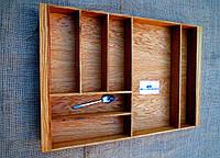 Лоток для столовых приборов из дуба E1 690.430 (индивидуальные размеры), фото 1
