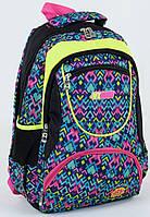 Рюкзак школьный Абстракция №3 для девочек 4, 5, 6, 7 класс, средней школы, старшие классы