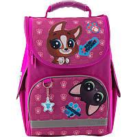 Рюкзак каркасный школьный Kite Education для девочек  Littlest Pet Shop (PS19-501S)
