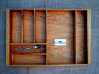 Лоток для столовых приборов из дуба E1 540.480 (индивидуальные размеры), фото 1