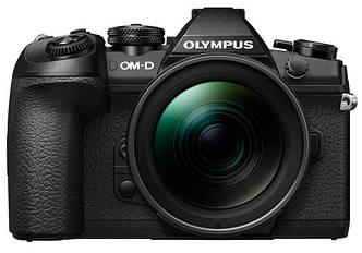 Цифровая камера OLYMPUS E-M1 mark II Double Zoom PRO 12-40+40-150Kit B/B/B