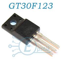 GT30F123, IGBT транзистор, N канал, 300В, 20А, TO220F