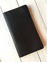 Портмоне ручной работы из натуральной кожи Goose™ Сlassic Zipper коричневый (тревел-кейс), фото 1