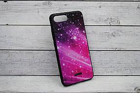 "Чехол для телефона Samsung M20/M205 Silicone TPU + Glass ""Mix"" №8"