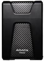 Жесткий диск External 2.5'' ADATA USB 3.1 DashDrive Durable HD650 1TB Black
