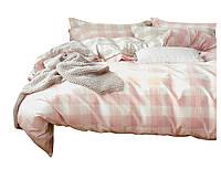 Комплект постельного белья Хлопковый Сатин NR C1371 Oulaiya 8258 Оранжевый