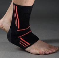Эластический Голеностоп Power System Ankle Support Evo PS-6022 Black/Orange L