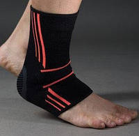 Эластический Голеностоп Power System Ankle Support Evo PS-6022 Black/Orange XL