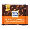 Молочный шоколад Ritter Sport Мёд - Соль - Миндаль 100 г. Германия, фото 2