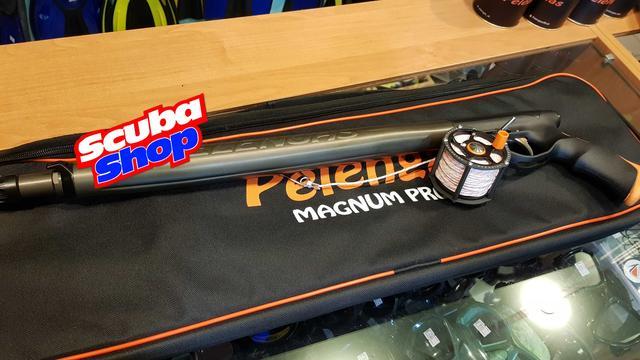 Пневмовакуумное подводное ружьё Pelengas Magnum Profi 55 + катушка и чехол в подарок!