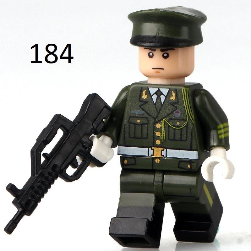Фигурка офицера swat спецназовцы военные солдаты Лего Lego BrickArms
