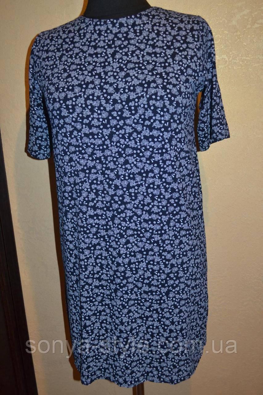 """Женское платье """" с  узорами   """" больших размеров"""