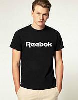Мужская спортивная футболка Reebok, Рибок, черная