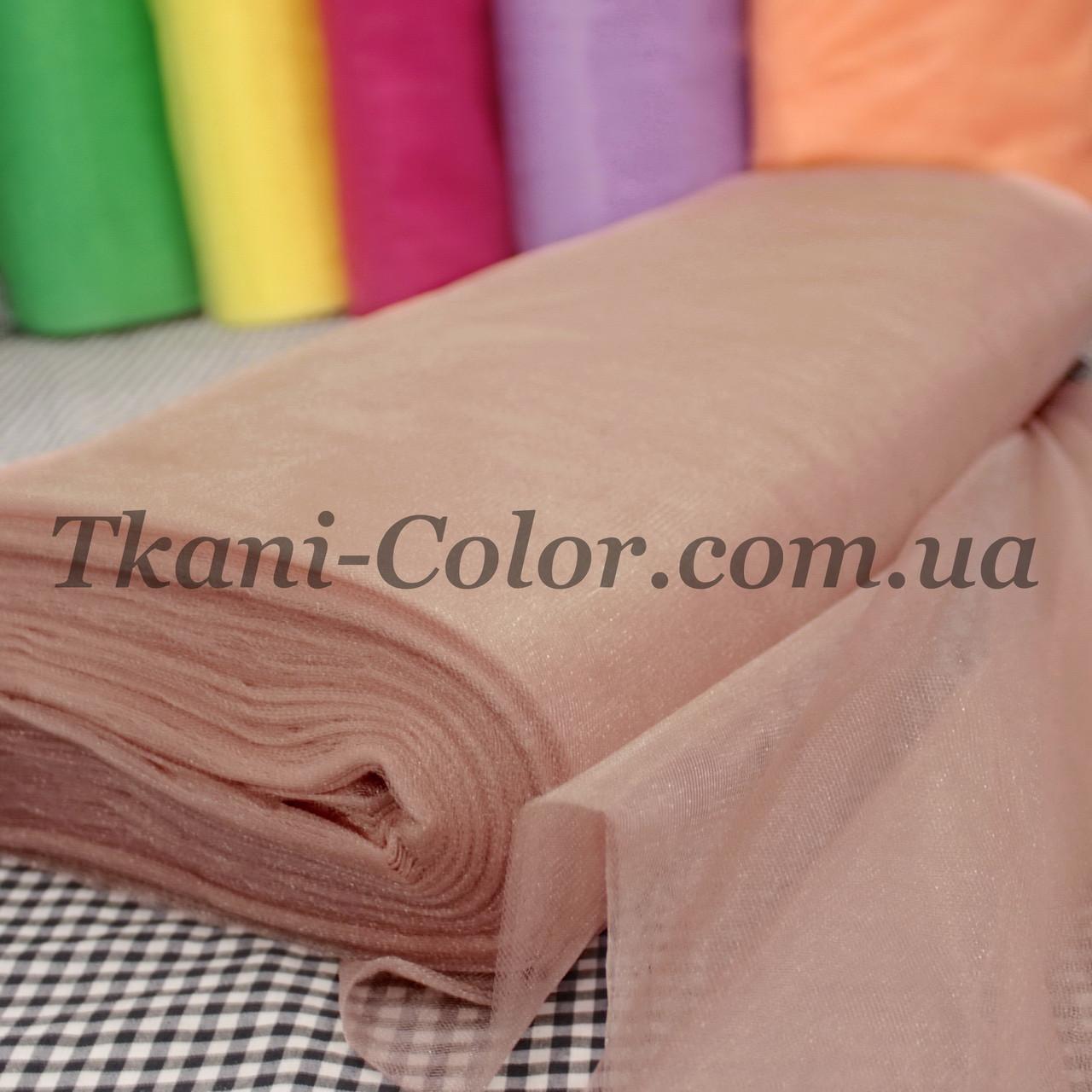 Ткань фатин средней жесткости фрез
