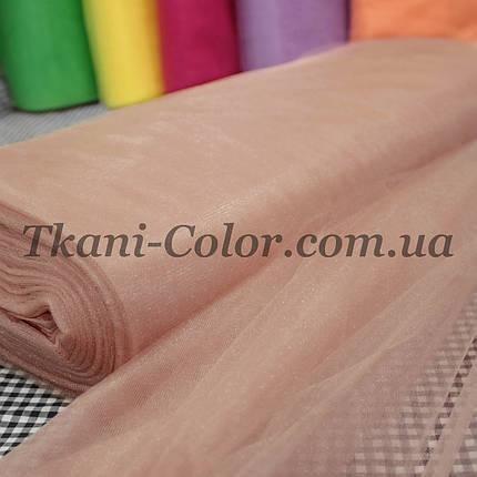 Ткань фатин средней жесткости фрез, фото 2