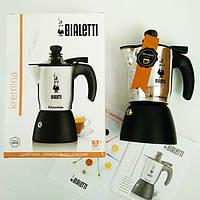 Гейзерная кофеварка Bialetti Kremina на 3 чашки 210 мл.(Румыния)