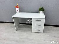 Маникюрный стол с подставкой для ног   Модель V409 белый