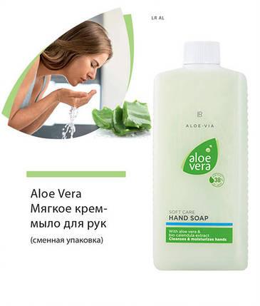 LR Aloe Vera Крем-мыло (дополнительная упаковка) 500 мл, фото 2