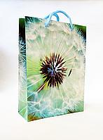 Бумажный подарочный пакет 18х24х7см / уп-12шт